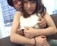 【マジックミラー号】札幌でナンパした居酒屋店員ゆみちゃんを素っ裸にして即ハメ! 鳴美れい
