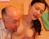 【FANZA動画】絶倫でスケベな義父に風呂中に侵入されてセックスされたり、夜這いされたりする息子の嫁の人妻動画。