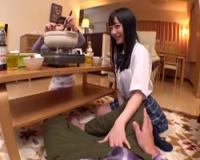 【痴女】彼女の側でに全力誘惑してくるJK妹!七沢みあ