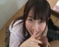 【痴女】小悪魔JKお姉ちゃんが教室でこっそりイジワル手コキ精液搾り!水卜さくら