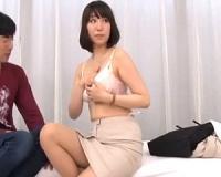 女神降臨!モニタリング!巨乳人妻が巨根の童貞クンとセックス!!