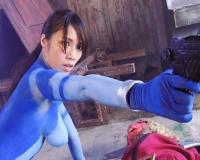 【ヒロイン討伐】女戦士アニス・ブライト(2/2)ボディペイントがエロすぎる~!ナノスーツで絶体絶命![風音舞香]