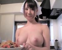 【橘優花】はだかの家政婦 Gカップで笑顔が可愛い ご主人様のためなら何でも致します