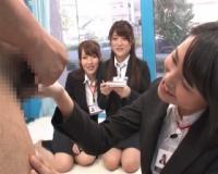 【SOD女子社員】社内で評判の女子を選抜 逆ナンパ研修 真面目な彼女たちの本音を暴く!
