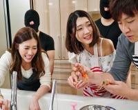 上品な若妻さんが常に生チ○ポで鬼ピストンされながら、まじめにお料理をしたり、笑顔でおしゃべり…旦那のとなりで知らぬ間に中出しされる若妻たち