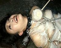 【管野しずか】女捜査官が性拷問されアナルに浣腸でウン汁噴出…