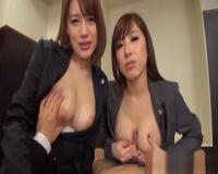【本田莉子 北川エリカ】面倒くさいクレーマーをパイズリSEXで対応する巨乳弁護士