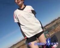 引き締まった敏感エロボディのスポーツ女子をナンパ!MM号でノーパンノーブラのトレーニングウェアを脱がして電マ即ハメ