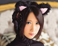 【超抜ける!】関西弁でスレンダー巨乳おっぱいのショートカットお姉さんがうさ耳コスプレでベロキス・スパイダー騎乗位SEX