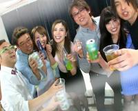 [早川瑞希 仁美まどか 生駒はるな]普段から酒飲んで騒いでるパリピ女子のナースとハメコン!酒も入りみんなでアヘアへ…
