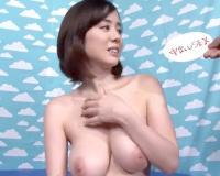 Hカップ美爆乳の素人娘・吉川あいみが罰ゲームでガチ危険日に生中出しされ受精確定