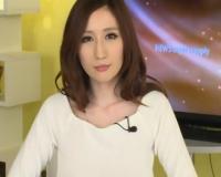 (JULIA])清楚な巨乳女子アナが生放送中にオッパイ解され乳首コリコリ…我慢できずにアヘアヘ発情!