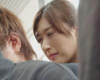 【神波多一花】満員電車で置換される女…痴女の着衣ハメSEX…