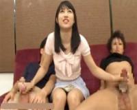 【ギャル動画】素人娘が金に釣られて手コキ!諭吉が1枚増える毎にパイズリ~パンティ素股~SEXとこなしていくユルマン女子