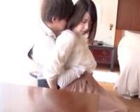 【小泉麻里】パイパン美女と囁き感じ合うエッチ/Mari。※激カワ美少女のラブラブSEX!