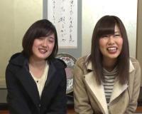 【素人ナンパ】箱根温泉でGETした音大生のお姉さん達がタオル1枚で男湯に入り羞恥ミッション‼複数の男に責められ絶頂アクメ