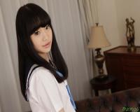 無修正 姫川ゆうな 真白なロリ娘の可愛いお尻を、撫でて触って愛撫して。