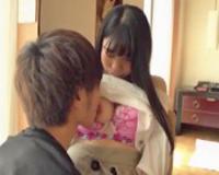 エロ動画更新!笑顔のかわいい黒髪美少女がロマンチックなイチャラブSEX「巨乳、美少女好きにオススメ!」