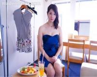 【美森けい】某有名化粧品メーカーの広告モデル 純白美肌の人妻 34歳 AVデビュー!!