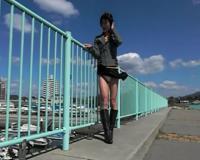 【野外露出】女装子ちゃんが公園でパンチラを楽しんじゃいます!!!