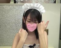 【無】【個人撮影】清楚S級美少女19歳JD架純ちゃん!処女喪失から1年後メイドコスです!剛毛マ●コは健在です!