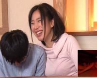 【素人親子】バレたら家庭崩壊!母親と息子がコタツでこっそり中出し1発10万円の近親相姦ゲームに挑戦!