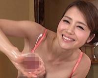 【北条麻妃】超極上!巨乳美熟女のスローハンド手コキで射精が止まらない!